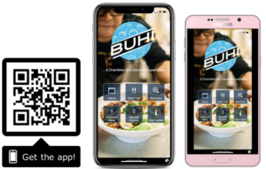 Get the app qr w/ phones