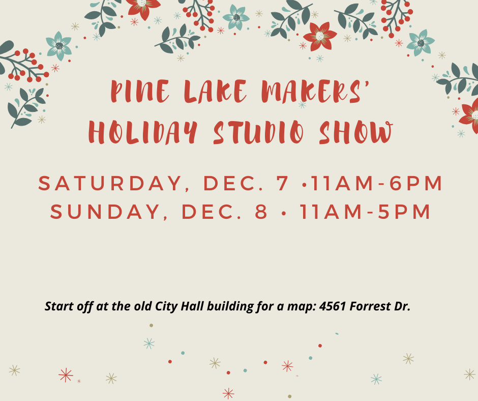 pine lake makers holiday studio